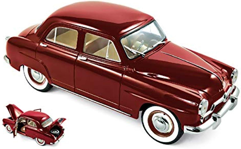 SIMCA 9 ARONDE 1953 AMARANT rosso 1 18 - Norev - Auto Stradali - Die Cast - modellolino