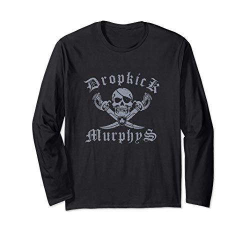 Dropkick Murphys - Official Merchandise - Jolly Roger Maglia a Manica