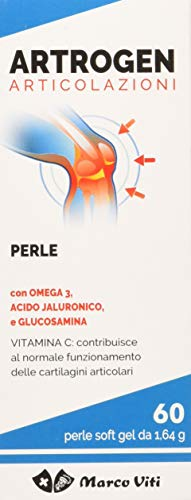 Marco Viti Artrogen Articolazioni Integratore Alimentare 60 Perle Soft gel