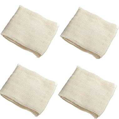 Regency Wraps 4 Piece Ultra Fine Cheesecloth, 9 sq. ft., Natural