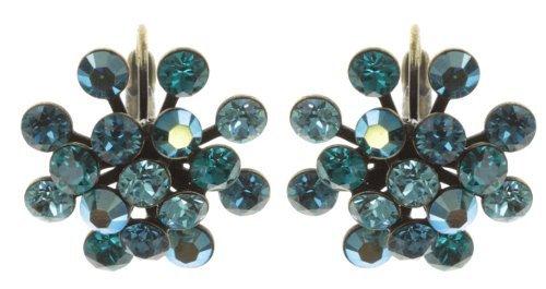 Konplott Ohrringe Magic Fireball brass dark blue