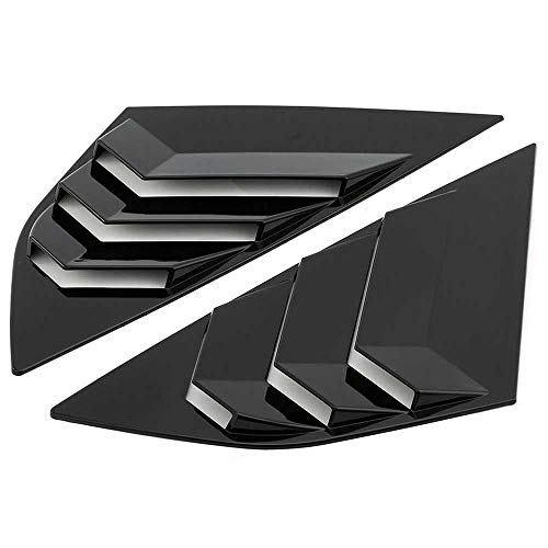 KenKER Car Side Vent Window Louver, passend für Ford Focus ST RS MK3