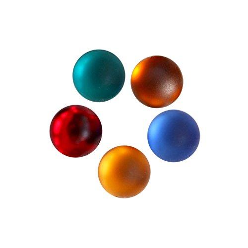 40 Strasssteine Cabochons Kunststoff 10mm Schmuckstein Klebestein, Farbmix, Farbe:Farbmix 3