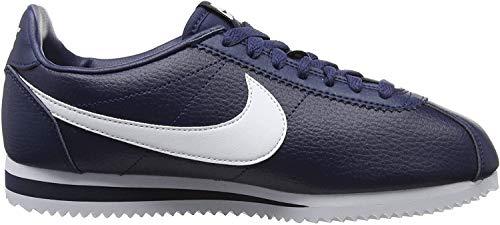 Nike Herren Classic Cortez Gymnastikschuhe, Schwarz (Midnight Navy/White 414), 44 EU
