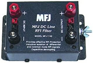 MFJ-1142 DC Line RFI Filter Outlet - Po