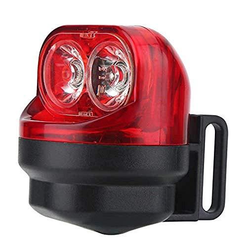 KDMB LED-Fahrradlichter-Set,Aktualisierte Version Fahrradlichtset, Fahrradbeleuchtung Induktion Reiten Mountainbike Licht Radfahren Rücklicht Hinterrad mit Halterung Fahrradzubehör