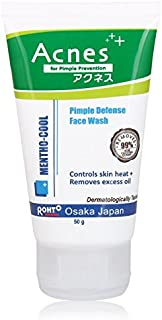 AcnesMentho-Cool Pimple Defence Facewash, 50g