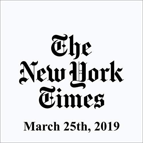 『March 25, 2019』のカバーアート