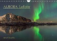 Aurora Lofotis (Wandkalender 2022 DIN A4 quer): Magische Lichter ueber den Lofoten (Monatskalender, 14 Seiten )