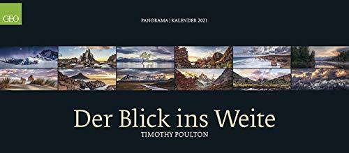 GEO Panorama: Der Blick ins Weite 2021 - Panaorama-Kalender - Wand-Kalender - Großfromat-Kalender - 137x60