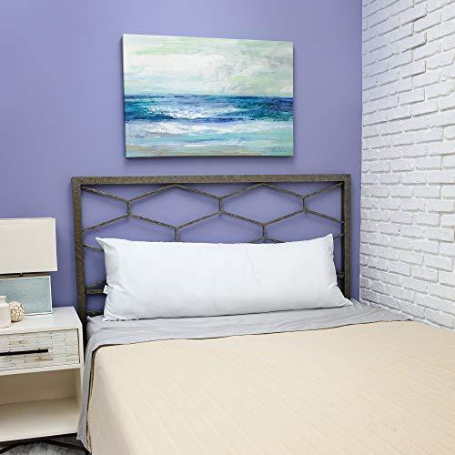 BioPEDIC Clean SofLOFT Fiber 54'x20' Body Pillow Odor and Anti-Stain Ultra-Fresh Treated Fabric, White