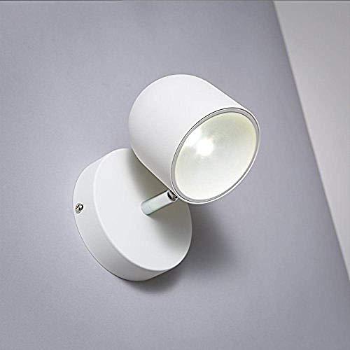 LBMTFFFFFF Lámpara de Pared de Novedad, Lámpara de Pared de Vidrio de Hierro Retro Ligera