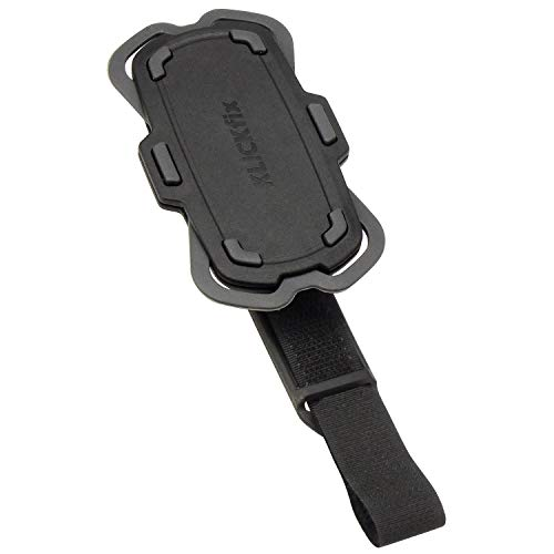 KLICKfix Unisex– Erwachsene Loop Phonepad, schwarz, Einheitsgröße