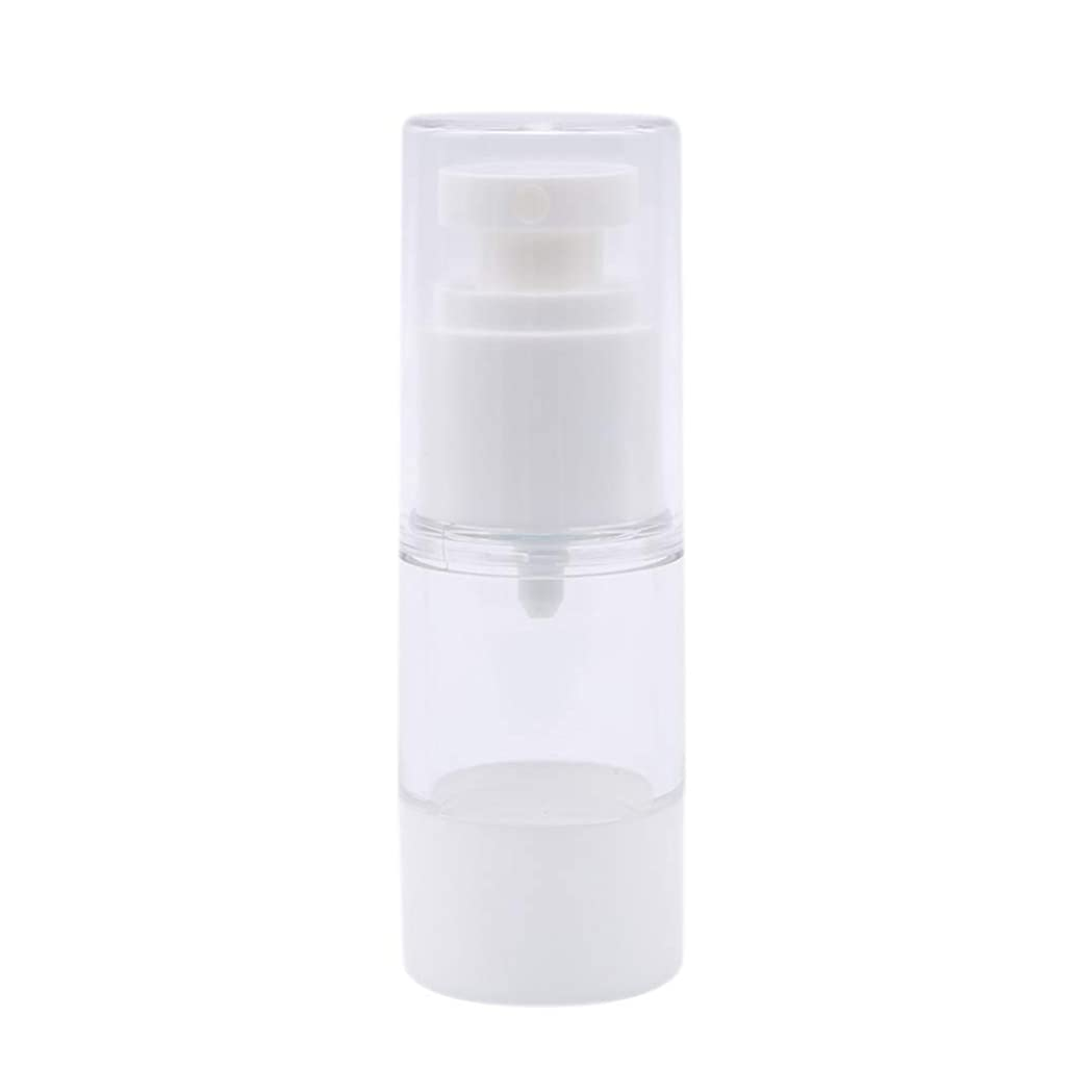来て暖かさチャーター100ML白い真空スプレーボトル化粧品瓶詰め
