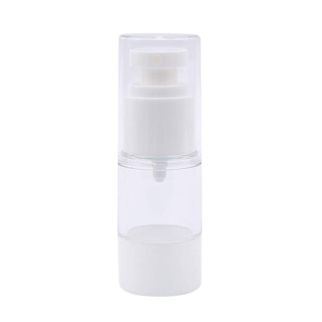 スコア楽しむ可能15ML白い真空スプレーボトル化粧品瓶詰め