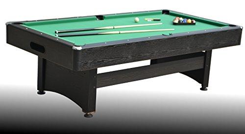 Tavolo da Biliardo regolamentare trasformabile in Ping Pong e Tavolo da Pranzo Apollo (con Piano) - Carambola - (245 cm x 135 cm x 82 cm) - Completo di Tutti Gli Accessori