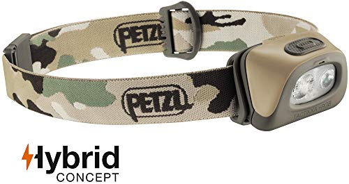 Petzl Stirnlampe TActikka RGB Camo, Camouflage, One Size