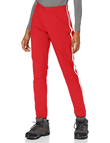 CMP Pantalón elástico Softshell, Mujer, Pantalón, 30A0846, Ferrari, 40