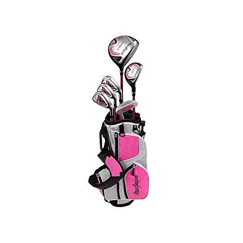 Macgregor Mädchen Tourney II Golf Set - Rosa, 9-12 Jahre