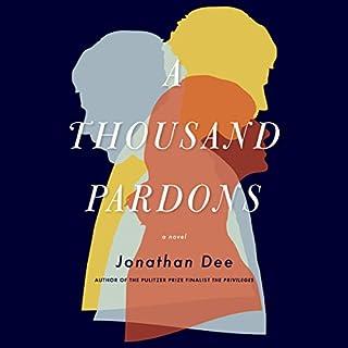 A Thousand Pardons audiobook cover art