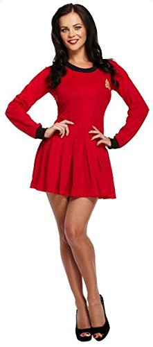 Ladies Space Traveller Fancy Dress Costume Outfit Star Trek Sci Fi Uniform U36014 by Fancy Pants Party Store