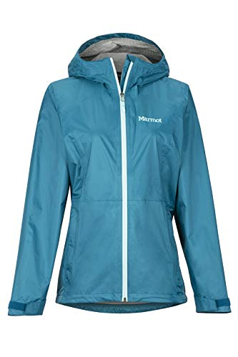 Marmot Damen Wm's PreCip Eco Plus Jacket Hardshell Regenjacke, Winddicht, wasserdicht, atmungsaktiv, Late Night, M