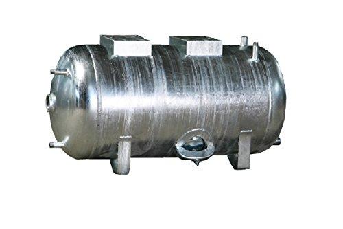 Druckbehälter 100-300 L 6 b liegend verzinkt Druckwasserkesssel Hauswasserwerk (200 L )