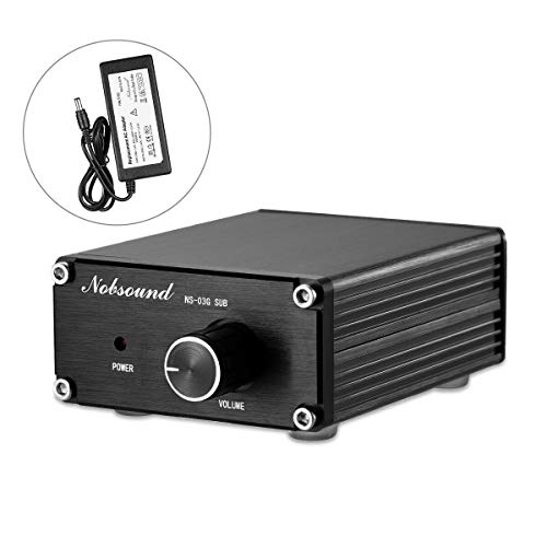 nobsound 100 W Subwoofer Digital Power Amplifier Audio Mini Amp – Amplificador de audio