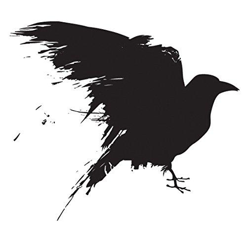 Black Raven Game of Thrones Sticker | Laptop, Car, Fridge, Wall Art Decal