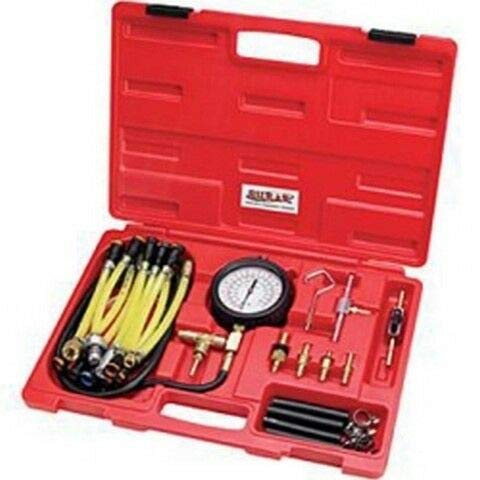 Buy Billion_Store Deluxe Fuel Injection Pressure Tester Kit SRRFPT22 Industrial Products & Tools
