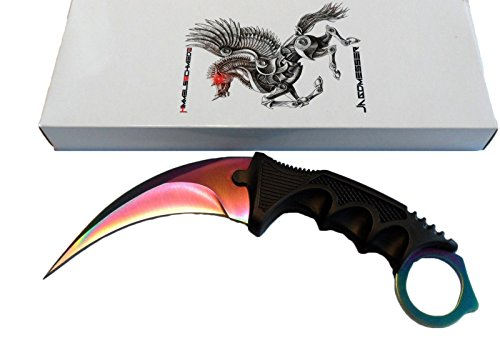 Himmelsschmiede CSGO Counter Strike Karambit FADE GO Skin Real Knife CS Strike Messer