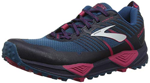 Brooks Cascadia 13, Zapatillas de Cross para Mujer, Multicolor (Ink/Navy/Pink 449), 38 EU