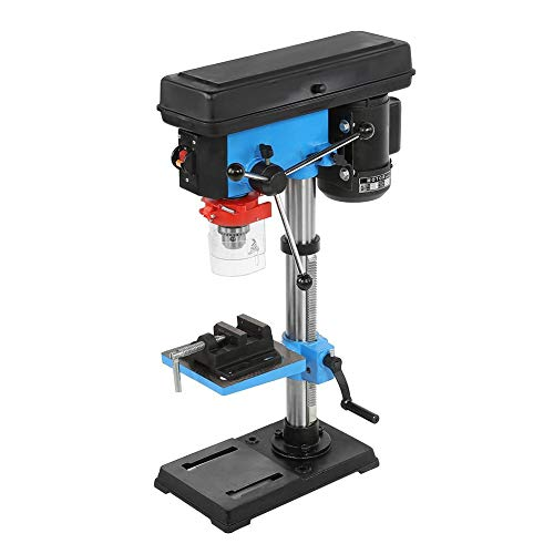 Electric Bench Drill Press Stand, Industrial High Accurate Hand Adjustable Height Bench Drill Press Stand Workbench Drill Press Table 110V 550 W