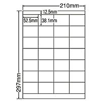 東洋印刷 シートカットラベル A4版 28面付(1ケース500シート) LDZ28U
