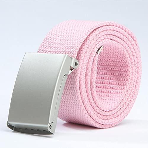 SSMDYLYM Cinturones para hombre Moda Nuevos Pantalones Unisex Pantalones Cinturones Cinturón Táctica Al Aire Libre Táctica Para Jeans Cinturón De Cintura Ajustable 140cm (Color : B)