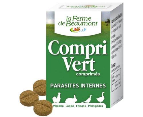 FERME DE BEAUMONT CompriVert 35 comprimés - purge comprimés volailles
