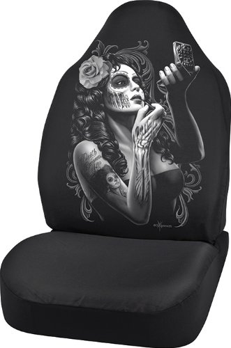 Bell Automotive 22-1-70274-9 David Gonzales Universal Bucket Seat Cover, Skin Deep Design