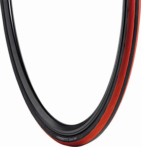 Vredestein Fiammante Duocomp - Cubierta para Bicicleta, Color Rojo