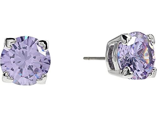 Kate Spade New York Heart Stud Earrings Light Amethyst One Size