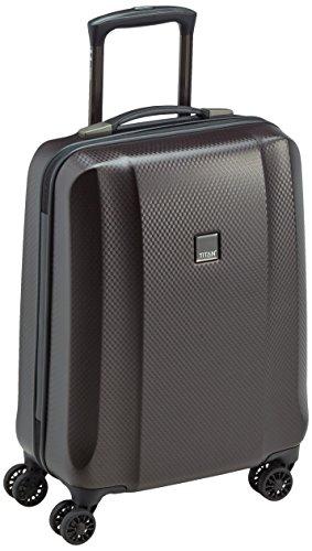 Titan 809406-01 Koffer, 55 cm, 38 Liter, Black