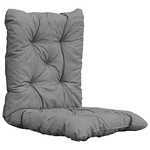 Cojines de mimbre para sillas con relleno de algodón suave, antideslizante, para silla de jardín, silla de casa, oficina, coches, 50 x 100 cm