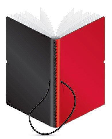 Ciak DUO Medium Notizbuch - Red & Black