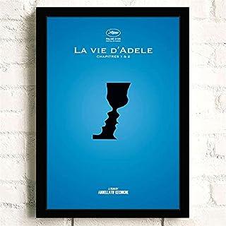 Klassieke Film La Vie D'Adèle Romantiek Liefde Posters Kwaliteit Canvas Schilderij Art Thuis Wall Decor Foto A1060 50×70 C...