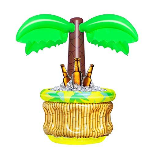 HEREB Suministros Inflables PortáTiles del Partido del Tema de La Playa del áRbol de Coco Inflable de La Palmera