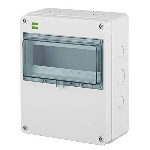 Sicherungskasten Kleinverteiler Feuchtraum Unterverteilung IP65 1reihig f.10 Automaten XL GROSS Außenbereich