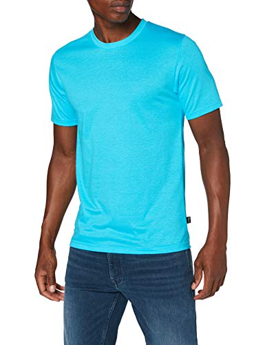 Trigema Herren 636202 T-Shirt, Azur, XXXL