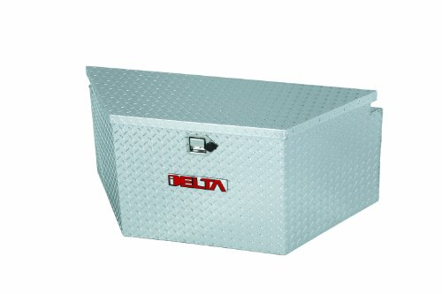 Delta 410000 48' Long Bright Aluminum Extra Wide Trailer Tongue Truck Box