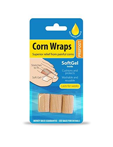 Profoot Corn Wraps - 2 Pack (6 wraps)