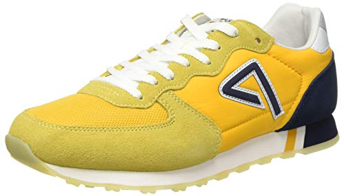 Pepe Jeans London Herren KLEIN Archive Summer M Sneaker, Gelb (Ochre Yellow 97), 46 EU