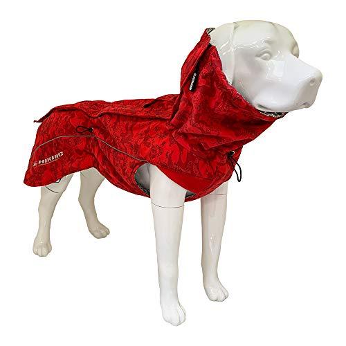 Croci Hiking Hundemantel, wasserdicht, für Hunde, gefüttert, Wintermantel, wärmeregulierend, Annapurna, Größe 40 cm - 195 g